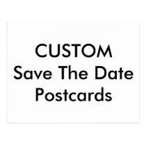 Custom Wedding Save The Date Postcards