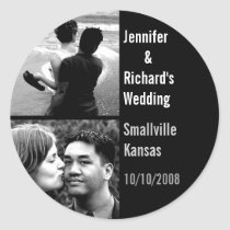 Custom Wedding Sticker