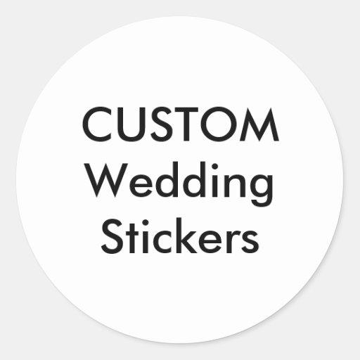 Personalised Wedding Gift Nz : Custom Wedding Stickers 1.5