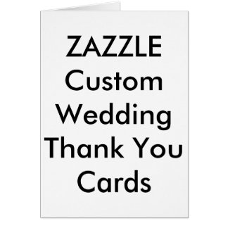 "Custom Wedding Thank You Cards 5"" x 7"""