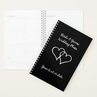 Custom weekly / monthly planner for wedding couple