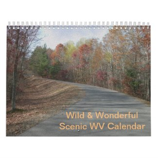 Custom West Virginia Calendar