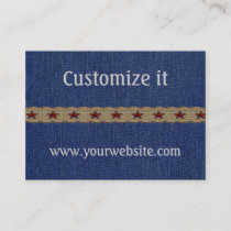 Custom Western Personal Business Cards