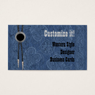 Custom Western Style Business Cards
