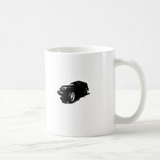 Custom Wheels Black Car T-shirts Gifts Coffee Mug