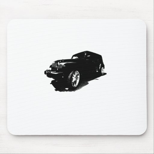 Custom Wheels Black Car T-shirts Gifts Mouse Mats