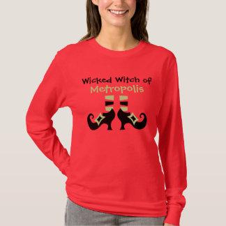 Custom Wicked Witch of Metropolis Halloween Shirt