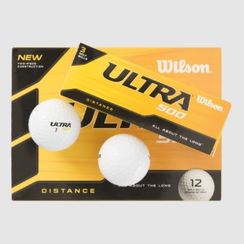 Custom Wilson Ultra 500 Golf Balls Customize by CREATIVESPORTS at Zazzle