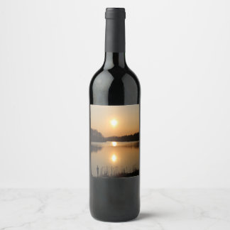 "Custom Wine Bottle Label (4"" x 3.5"")"