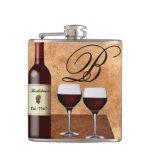 Custom Wine Flask