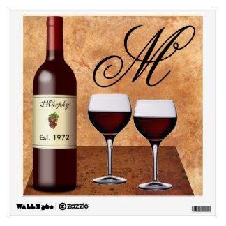 Custom Wine Wall Decal
