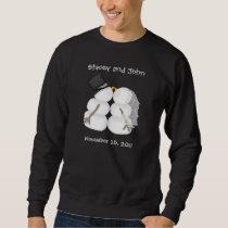 Custom Winter Wedding Sweatshirt