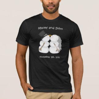 Custom Winter Wedding T-Shirt