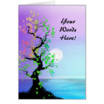 Custom with Your Words Tree of Life Birthday Card