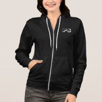 Custom Women's American Apparel California Fleece Hoodie
