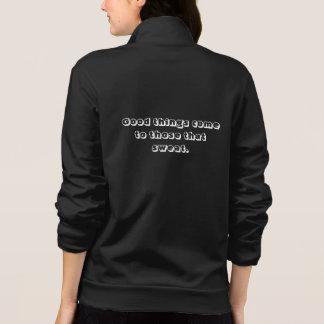 Custom Women's American Apparel California Fleece Printed Jacket