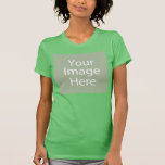 """Custom Womens Casual Tshirt<br><div class=""""desc"""">Personalize your own womens casual tshirt on Zazzle.com! Click the Customize button to insert your own artwork, design, or photo to make a unique womens casual tshirt. Try adding text using various fonts & view a preview of your design! Zazzle's easy to customize womens casual tshirt has no minimum order...</div>"""