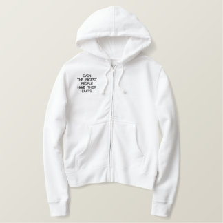 Custom Women's Embroidered Hoodie