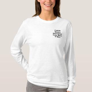 Custom Womens Embroidered Long Sleeve T-Shirt