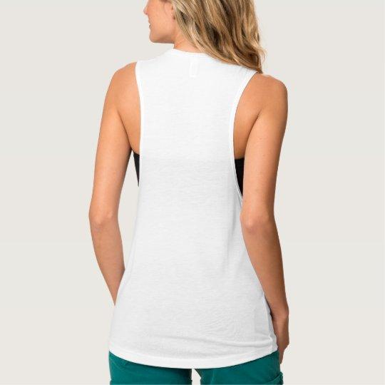 b16131c2b5 Custom Womens Flowy Loose Fit Muscle Tank Top Tee | Zazzle.com
