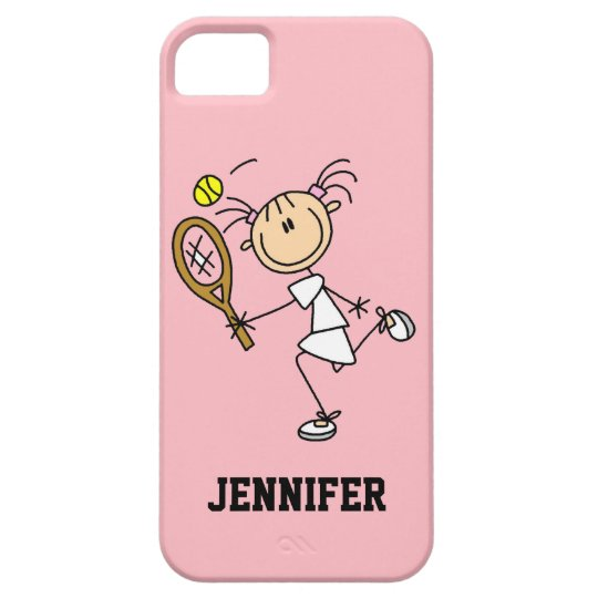 Custom Women's Tennis iPhone 5 Case