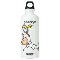 Custom Womens Tennis Sports Aluminum Water Bottle