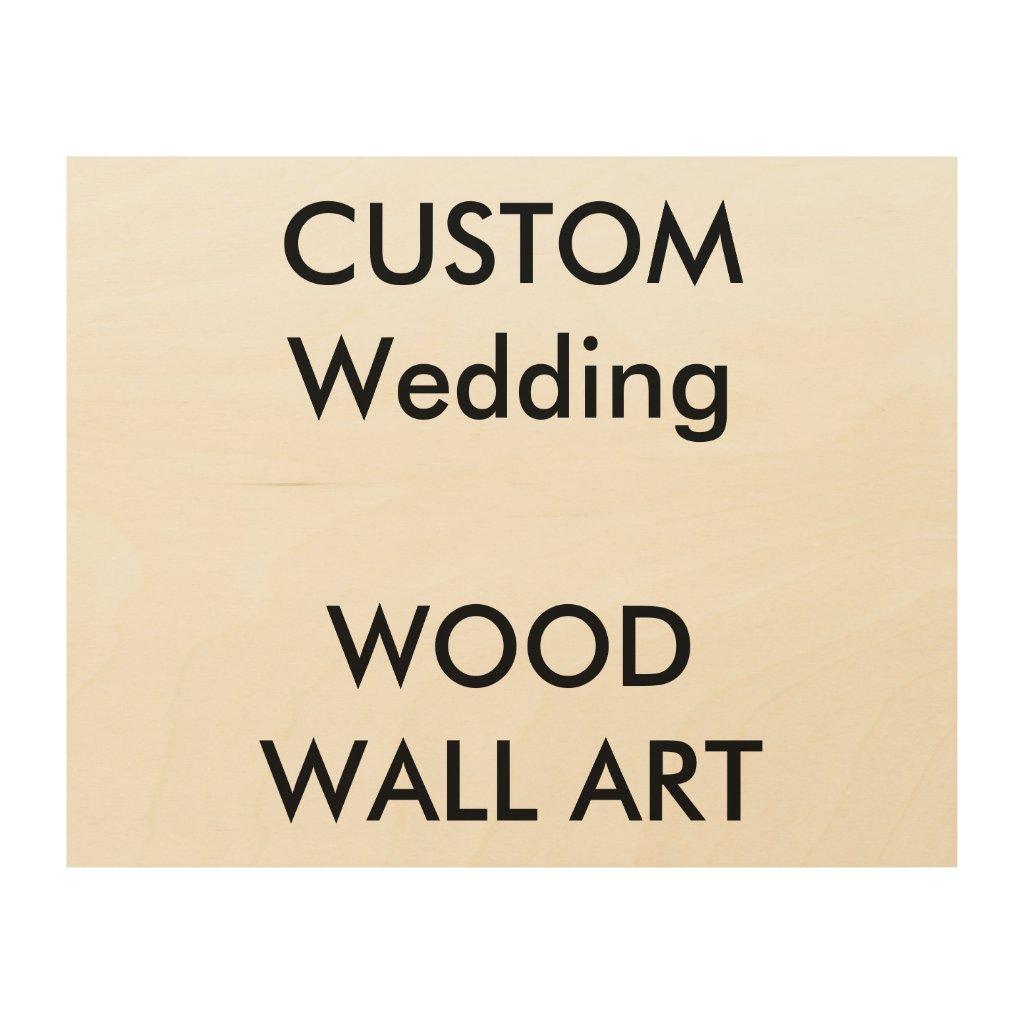 Custom Wood Wall Art 10