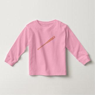 Custom Wooden Baseball Softball Bat Kids Jersey T-shirt