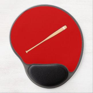 Custom Wooden Baseball Softball Bat Playing Cards Gel Mouse Mats