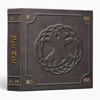 Custom World Tree Book of Shadows 3 Ring Binder