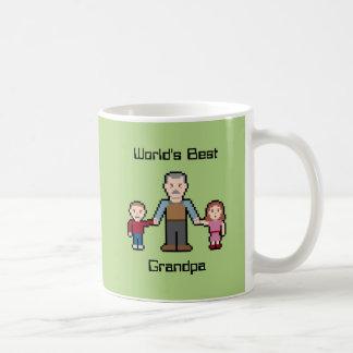 Custom World's Best Grandpa Coffee Mug