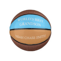 Custom Worlds' best Grandson basketball
