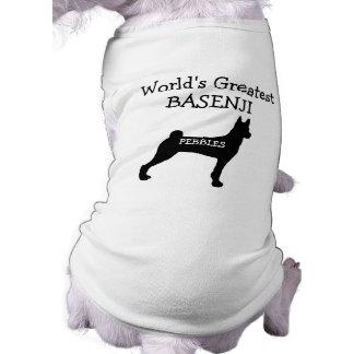 Custom Worlds Greatest Basenji Dog Shirt