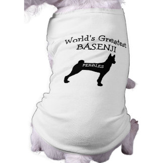 Custom Worlds Greatest Basenji T-Shirt