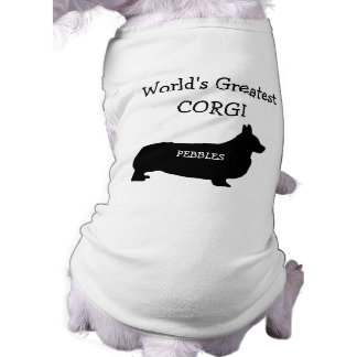 Custom Worlds Greatest Corgi Dog Tee