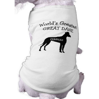 Custom Worlds Greatest Great Dane Pet Clothes