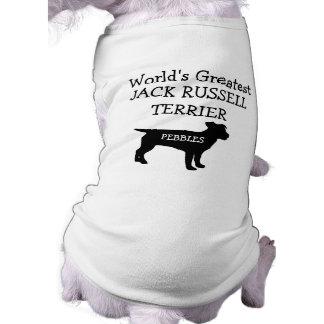 Custom Worlds Greatest Jack Russell Terrier Doggie Tee