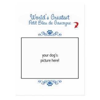 Custom Worlds Greatest Petit Bleu de Gascogne Postcard