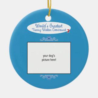 Custom Worlds Greatest Treeing Walker Coonhound Ornament