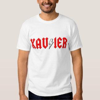 custom XAVIER rock and roll shirt