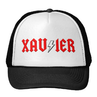 custom XAVIER rock and roll shirt Trucker Hat