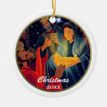 Custom Year and Family Name Christmas Ornaments Christmas Tree Ornaments