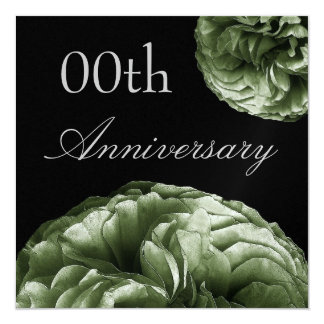Custom Year Anniversary Invitation SAGE Roses