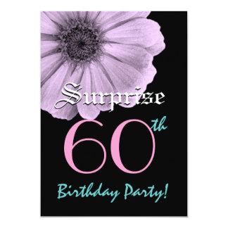 Custom Year Birthday Lavender Daisy Card