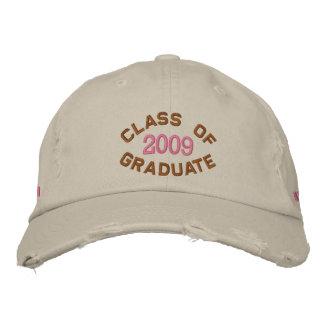 Custom Year Graduation 2009 Embroidered Baseball Cap