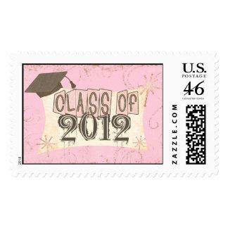 Custom Year Graduation Class Of Postage