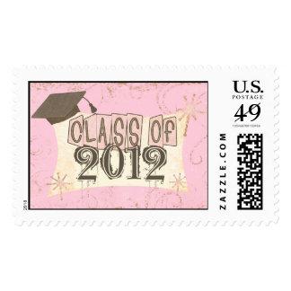 "Custom Year Graduation ""Class Of"" Postage"