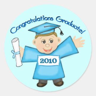 Custom Year Preschool Graduate Boys Sticker
