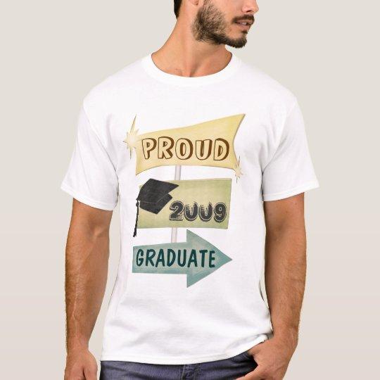 Custom Year Retro Graduation Class of T-Shirt