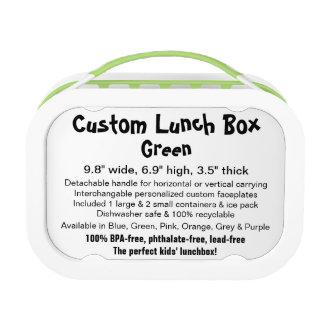 Custom yobo Lunch Box - GREEN